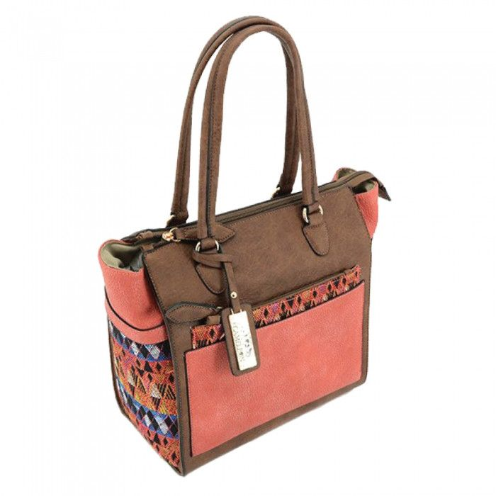 Aztec Concealed Carry Purse: Brown