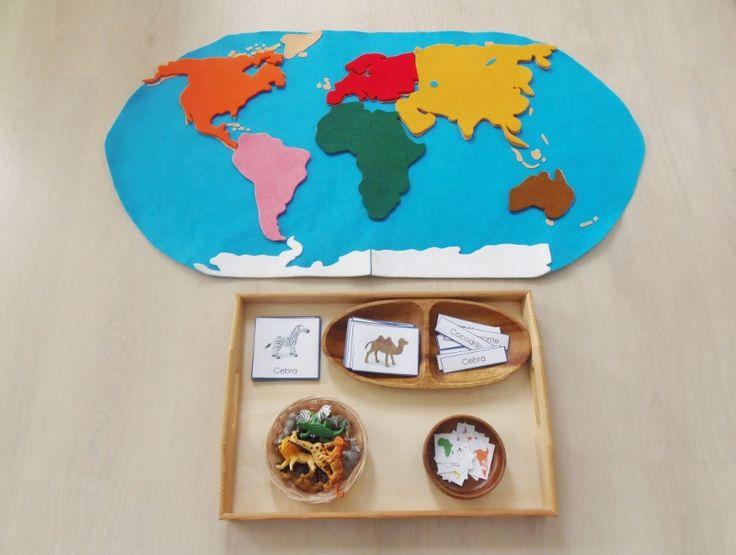 Pegatinas continentes