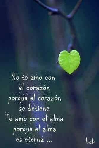 Te amo con el alma*