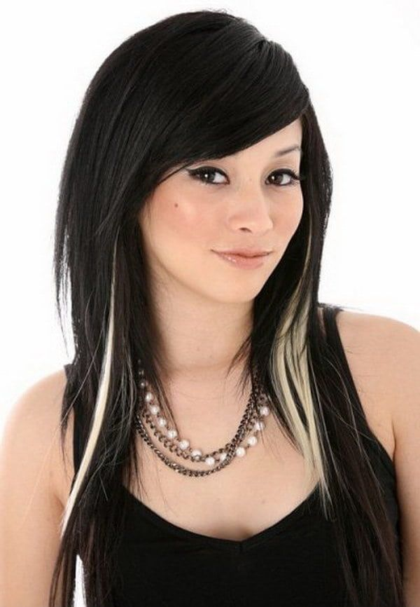 20 Original Black Hair With Blonde And Caramel Highlights In 2020