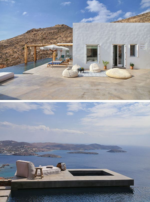 BEAUTIFUL HOLIDAY HOMES ON THE GREEK ISLAND OF SYROS   THE STYLE FILES