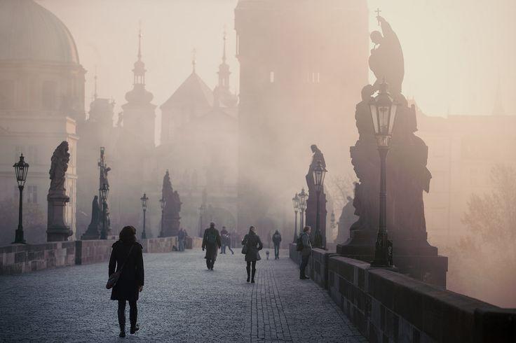 Welcoming new day in Prague   www.lukaskrasa.com   www.instagram.com/lukaskrasacom