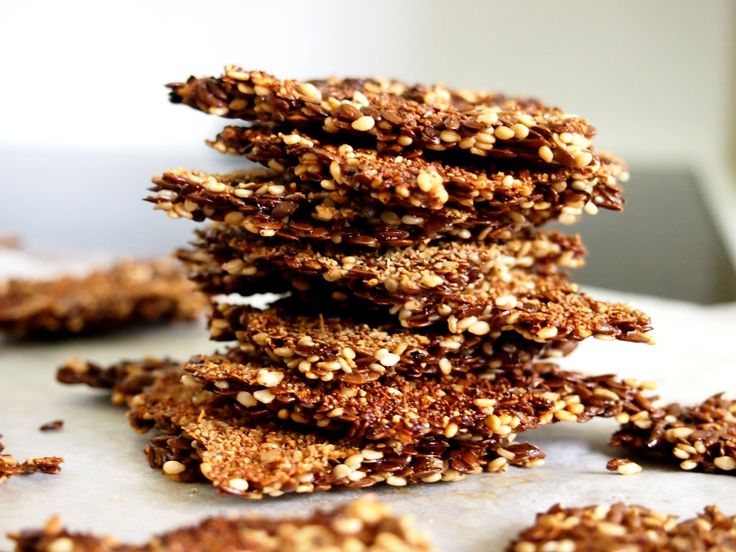 linseed crackers