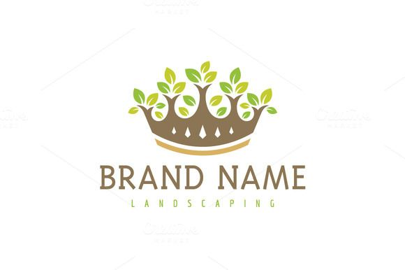 For sale. Only $29 - plant, tree, nature, leaf, wealth, royal, growth, success, development, flower, luxury, money, leader, garden, crown, kingdom, king, pot, sprout, rule, forest, wood, grow, landscaping, floral, environment, investing, jewelry, wellness, green, brown, golden, logo, design, template,