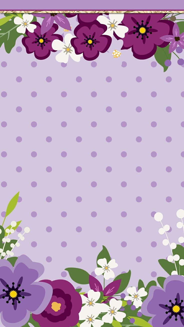 #purple_dreams #wallpaper #iphone #cutewalls #floral