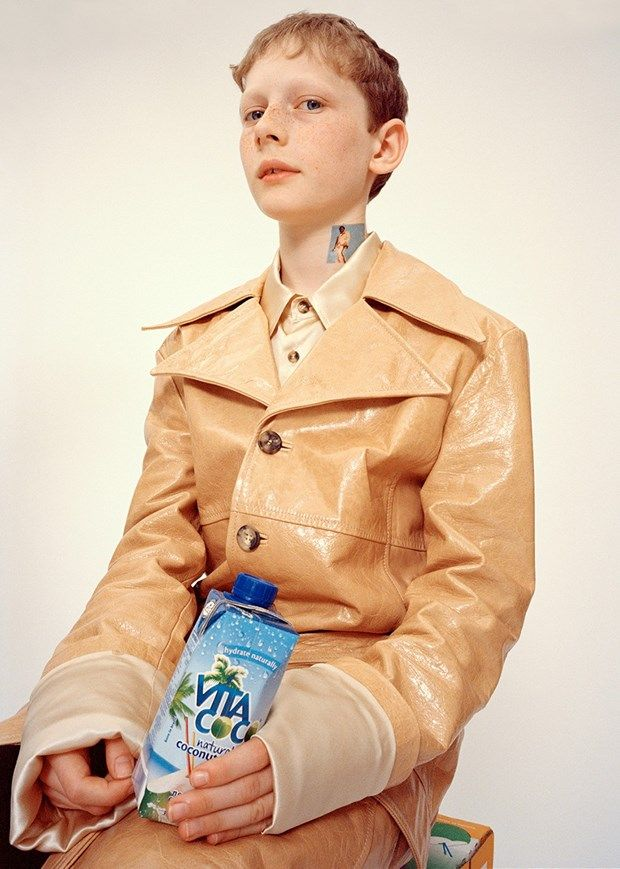 Grace Wales Bonner Dazed interview Fashion East AW15 CSM