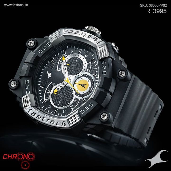 Trade up to a #Chrono. http://fastrack.in/chronograph/product/38006pp02