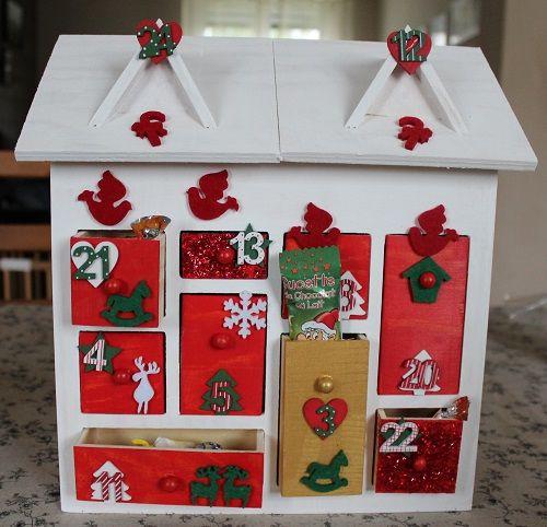 19 best calendrier avent images on pinterest natal. Black Bedroom Furniture Sets. Home Design Ideas