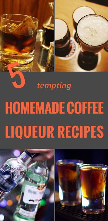 Do you need more than a good cup of coffee to CURE YOUR CRAVING? Here are 5 great homemade coffee liqueur recipes that will satisfy all your cravings