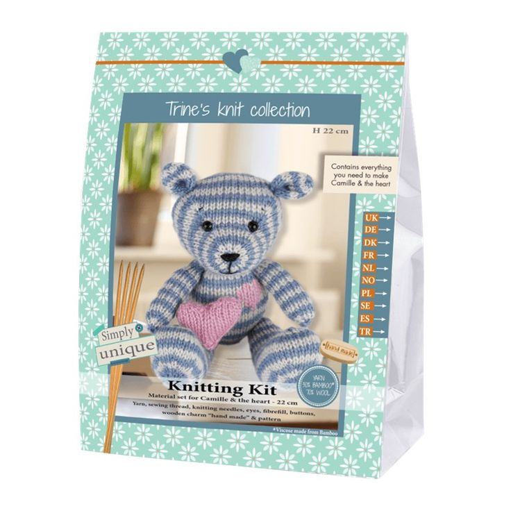 Camille The Bear - Lukas & Friends Collection