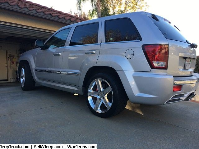 Jeeps For Sale and Jeep Parts For Sale - 09 Jeep Grand Cherokee SRT8