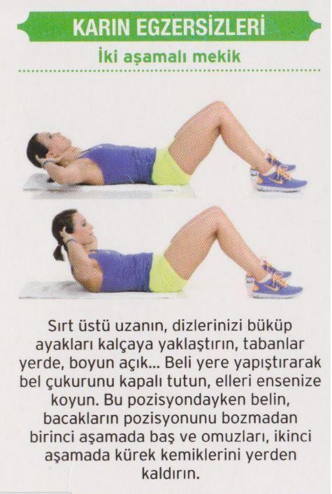 7 Günde Göbek Yağlarını Eriten Karın Egzersizleri – Sayfa 4 – Kadın Sitesi