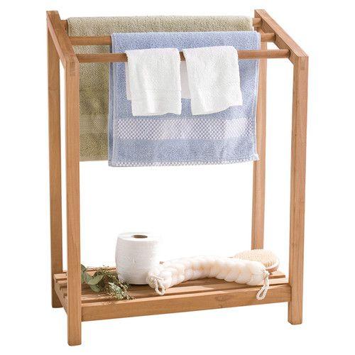 Wildon Home   McKell Free Standing Towel Rack. Best 25  Free standing towel rail ideas on Pinterest   Ikea towel