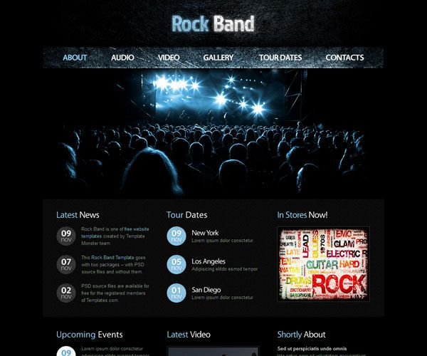 92 best images about Free HTML Website Template on Pinterest