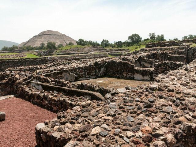 Zona arqueológica de Teotihuacan, Mexico, Mexico. Foto: Ralf_Roletschek (CC-BY-SA 4.0)