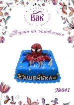 Торт «Человек-паук»