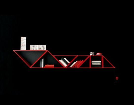 Afbeeldingsresultaat voor modern bookshelf design
