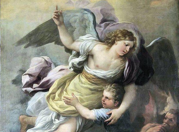 """""""Oración de una madre a los ángeles de la guarda de sus hijos"""": Humildemente los saludo, ¡fieles amigos celestiales de mis hijos! Les doy gracias de todo corazón por todo el amor y la bondad que les muestran. En algún día futuro lo haré, con un agradecimiento más digno del que ahora se puede dar,…"""