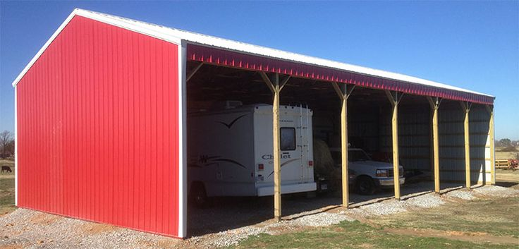 46 best images about barns on pinterest pole barn garage for Three sided shed plans