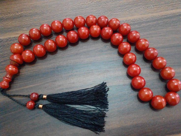 Tasbih pocok (buah gebang)  14mm isi 33. Check www.indonesianhandycraft.com for more info.
