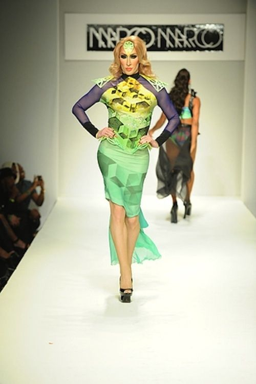 All Runway Models Should Be Replaced With Drag Queens Immediately Like this.