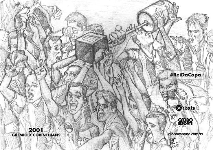 Pôsteres para colorir: relembre os 4 títulos do Grêmio na Copa do Brasil #globoesporte
