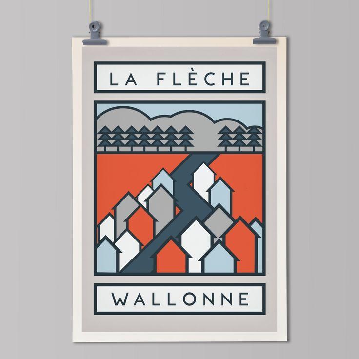 La Fleche Wallonne Print