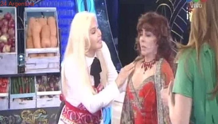 Susana Giménez recibió a Verónica Castro y... apareció Cacho Castaña