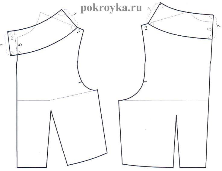 Модели воротников могут варьироваться бесконечно, но их основы всегда одинаковы. При построении всех видов воротников действует правило: сначала горловина, затем воротник. Для большинства воротников-стоек важна ширина и глубина новой горловины, а не ее форма. Однако если воротник-стойка строится на полочке и спинке модели с большим вырезом горловины, то форма новой горловины переносится на линию нижнего [...]