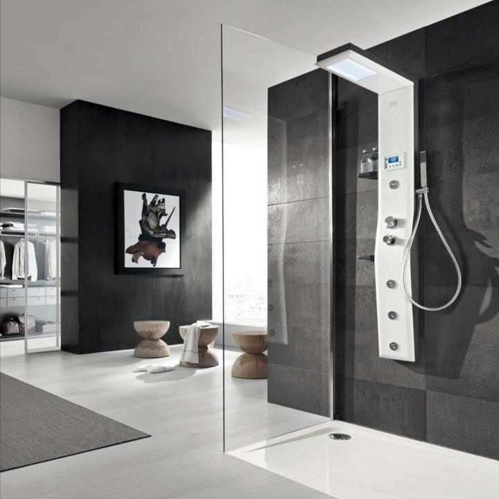 78 Best Doorless Shower Images On Pinterest