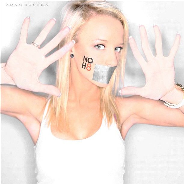 NOH8, I love this <3