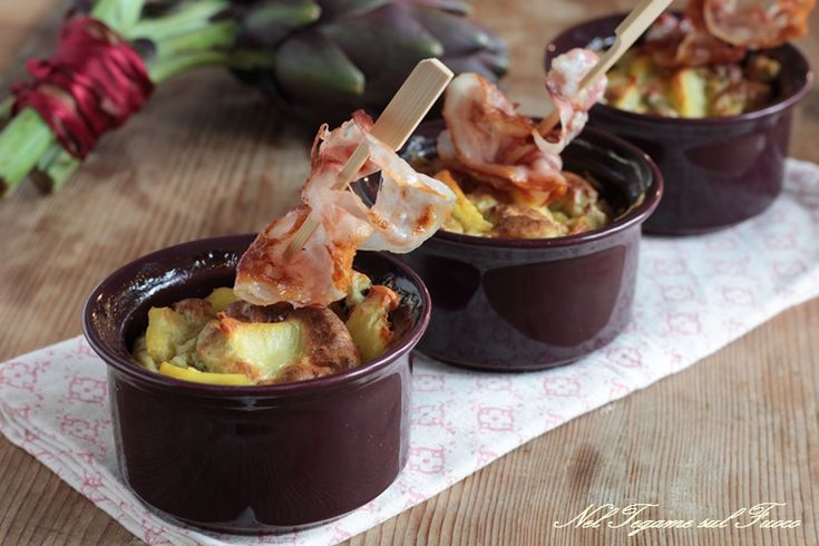Sformatini+di+carciofi+e+patate