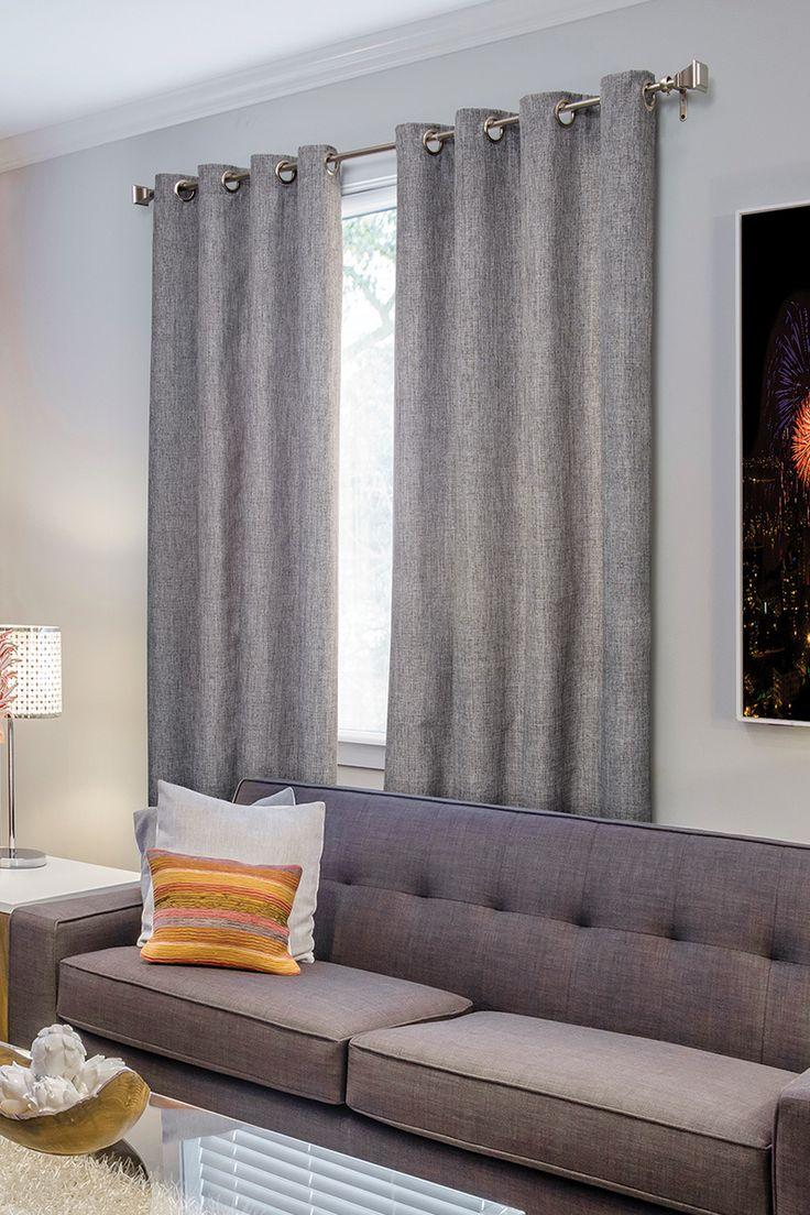 Utiliza en tu hogar cortinas de colores neutros para que combinen con tus muebles y color de paredes. Además lucen bien en cualquier temporada del año, como esta cortina modelo Milán.