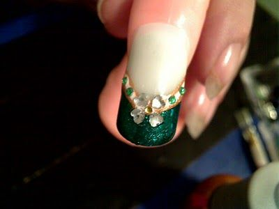1000 Images About St Patrick S Day Nails On Pinterest Saint Patrick S Day Irish Nails And