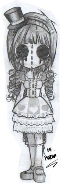 Tattoo poupée vaudou - Lilo
