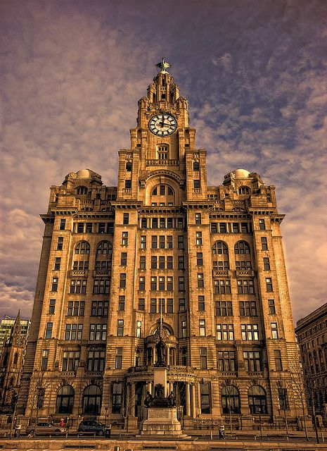 The Royal Liver Building - Liverpool, England Im obsessed with architecture