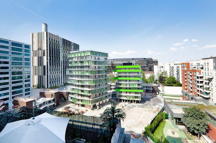Villiot-Rapée Apartments, Hamonic + Masson | Paris | France | MIMOA