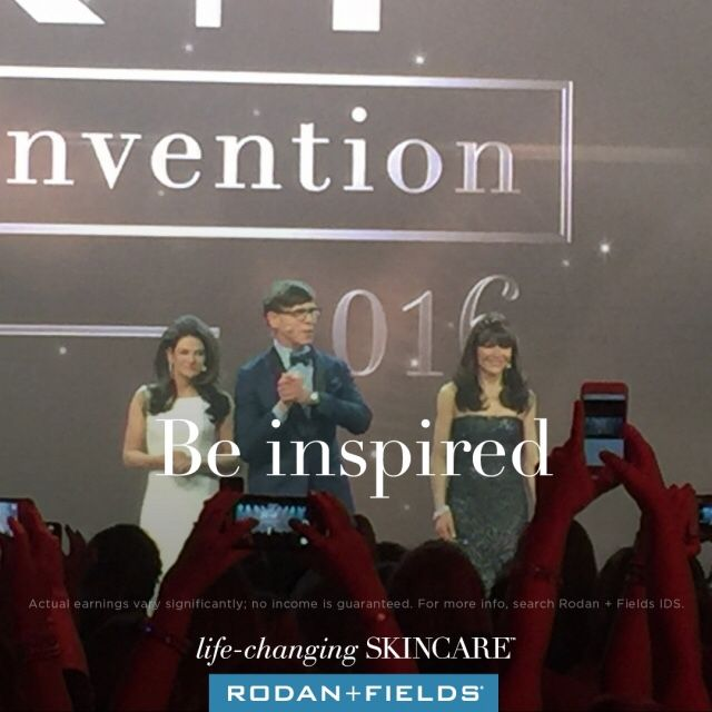 I took this picture at Convention last year! These three people truly inspire me! I loved hearing Amnon Rodan speak at convention about Rodan Fields Future! Dr Katie Rodan and Dr kathy Fields are amazing on how they created Proactiv the success they were with that brand and now every thing they created in this brand now and future products are simply amazing! I also find it incredible how they still treat patients after all they accomplished! I am truly proud and inspired to
