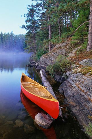 Red Canoe Iphone Wallpaper Favorite Places Amp Spaces Pinterest Red Iphone Wallpapers And