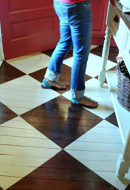 Cool kitchen floors