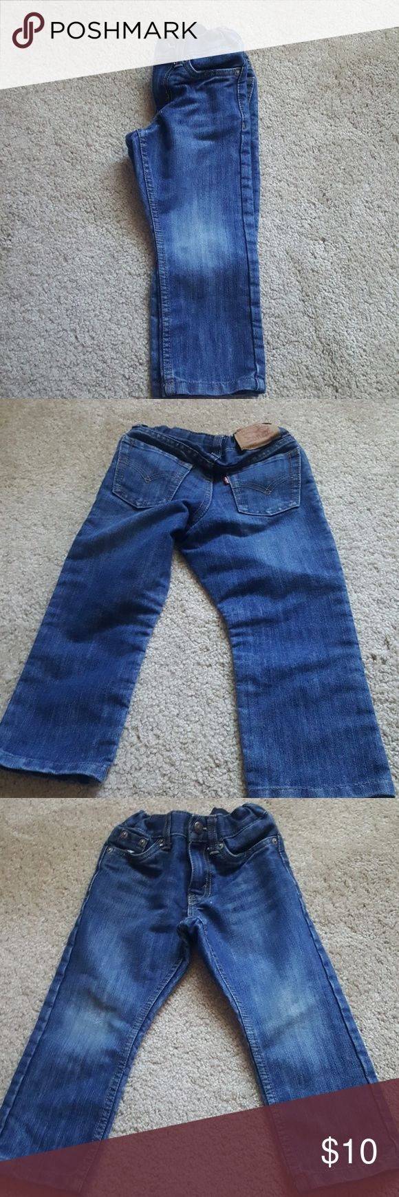 Boys Levis  511 slim jeans Gently used 2T Levis Levi's Bottoms Jeans