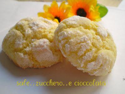 sale zucchero e cioccolata: BISCOTTI AL LIMONE