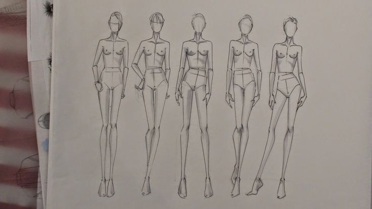 176 best images about fashion croquis sketching on