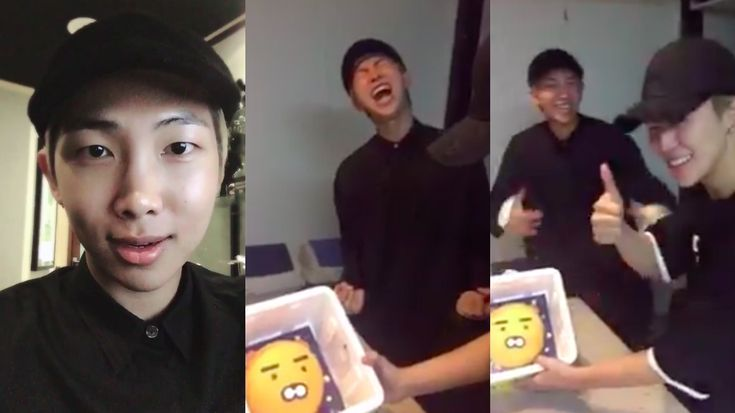 BTS Celebrates Rap Monster's Birthday With Perfect Cake, Party, And Embarrassing Photos