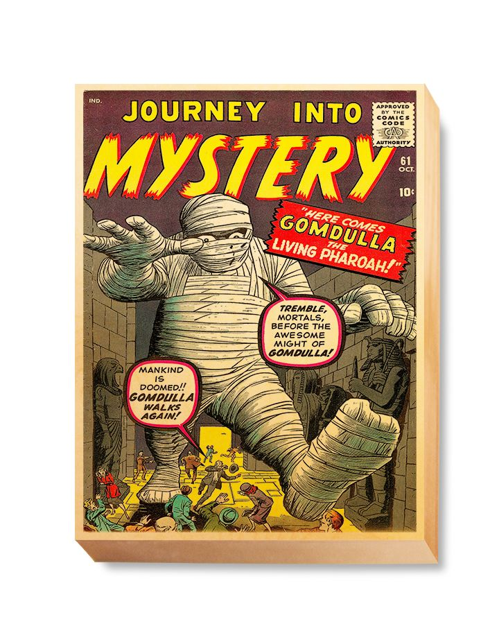 HOR 021 Horror Comic Cover - Journey into Mystery Mummy