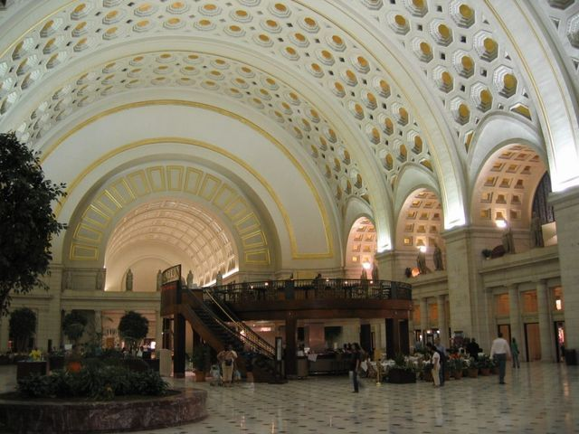 Learn about Union Station, Washington DC's train station and premier shopping mall, transportation options, restaurants, parking and more.