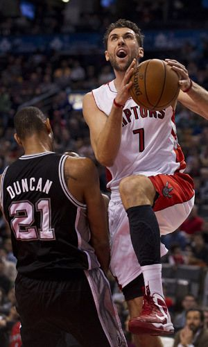 The firts pick history for the Toronto Raptors of the 2006 NBA Drafts. The Italy Andrea Bargnani