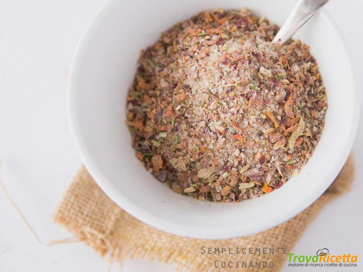 Dado granulare vegetale  #ricette #food #recipes