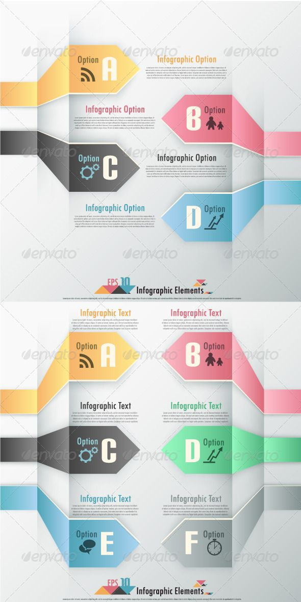 Modern Infographic Options Banner (Two Versions) Template #design #infografik Download: http://graphicriver.net/item/modern-infographic-options-banner-two-versions/6885399?ref=ksioks