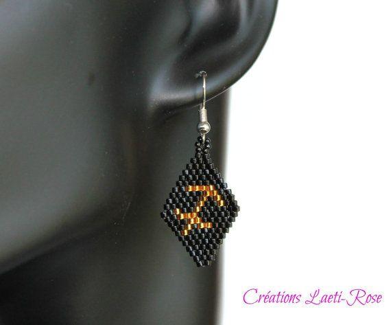 Zodiac sagittarius women earrings women by CreationsLaetiRose